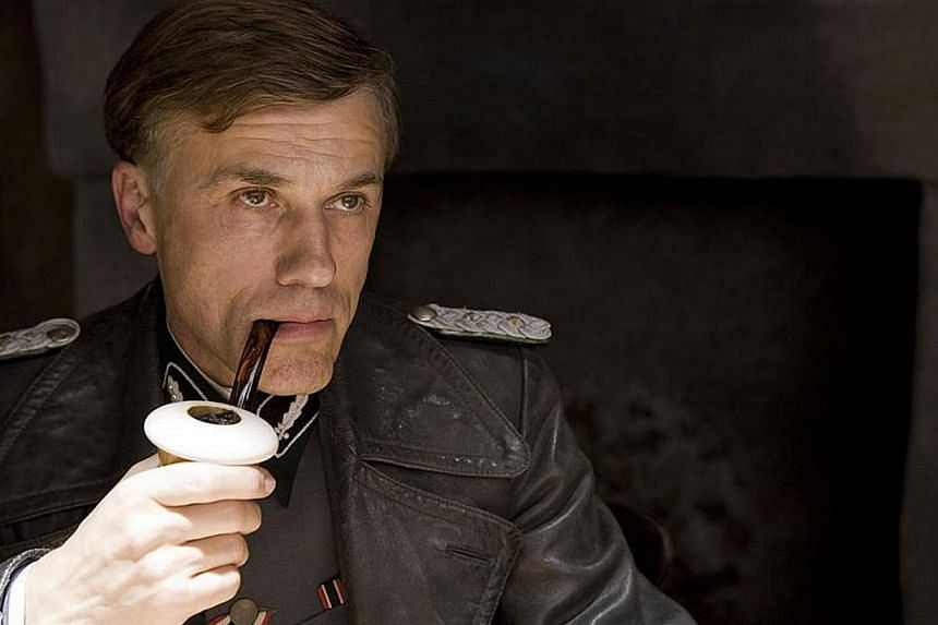 Christoph Waltz as Colonel Hans Landa in Quentin Tarantino's Inglourious Basterds, the role which won him the first of his two Academy Awards as Best Supporting Actor . -- PHOTO:UNITED INTERNATIONAL PICTURES