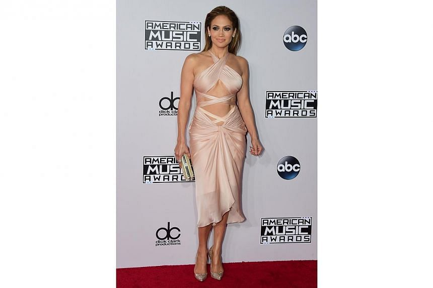 This is Jennifer Lopez's version of dressing down. -- PHOTO: AFP