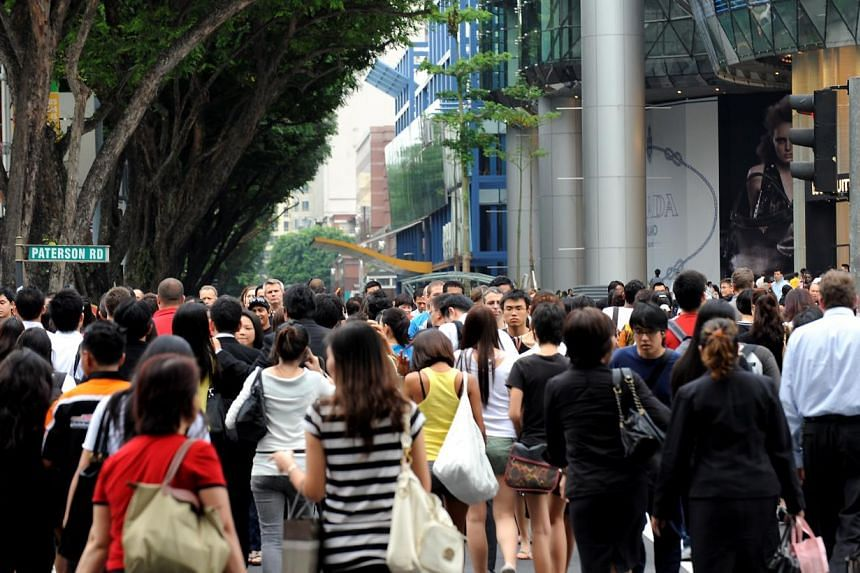Singaporeans should strive to be the first in career resilience too. --PHOTO: STFILE