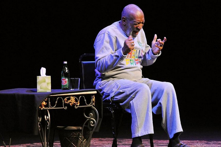 Actor Bill Cosby performs at At King Center For The Performing Arts on Nov 21, 2014 in Melbourne, Florida. -- PHOTO: AFP