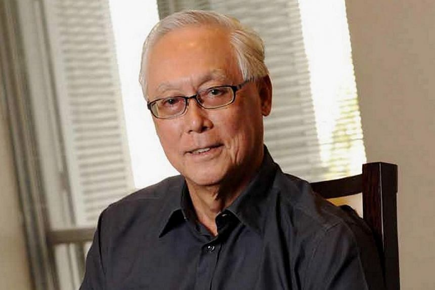Emeritus Senior Minister (ESM) Goh Chok Tong has been discharged from hospital after his prostate cancer surgery. -- PHOTO: PETIR