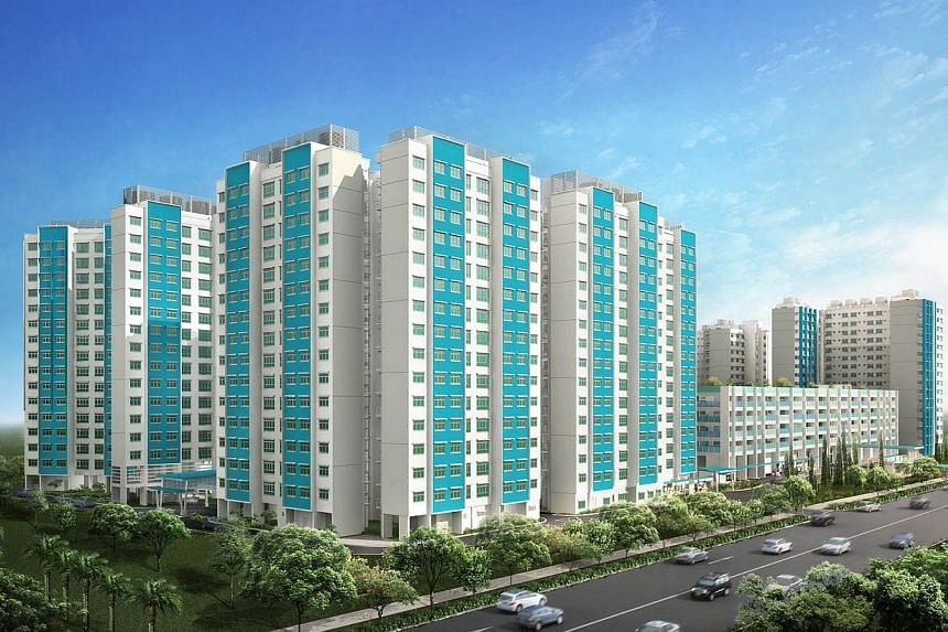 New BTO launches in November 2014. Sun Breeze (Sembawang). -- PHOTO: HDB