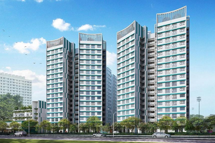 New BTO launches in November 2014. Anchorvale Fields (Sengkang). -- PHOTO: HDB