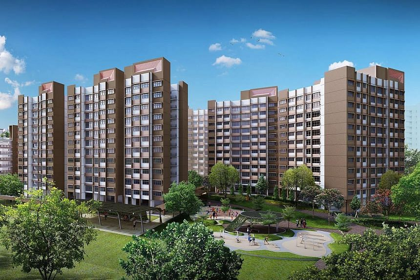 New BTO launches in November 2014. Tampines GreenEdge. -- PHOTO: HDB