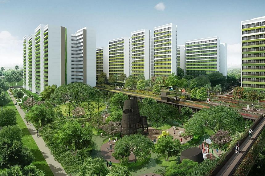 New BTO launches in November 2014. Tampines GreenRidges. -- PHOTO: HDB