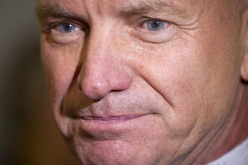 Singer Sting arrives for the opening night of his Broadway Show The Last Ship in New York last month. -- PHOTO: REUTERS