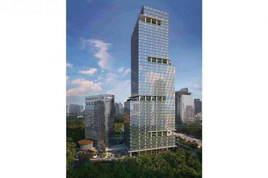 The joint venture follows a successful collaboration between Rajawali and GIC in the development of the 47-storey Capital Place. -- PHOTO: GIC