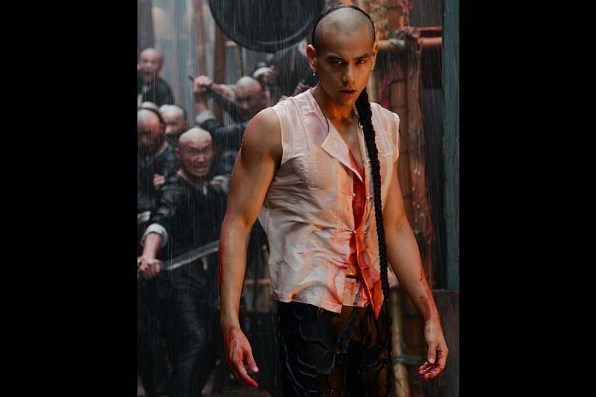 Eddie Peng (above) plays a young martial arts practitioner who is adopted by a gang leader as his fourth son in Rise Of The Legend.