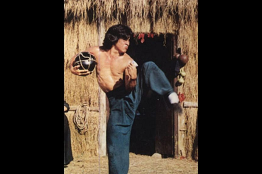 Box-office hit Drunken Master shot actor Jackie Chan (right) to fame.