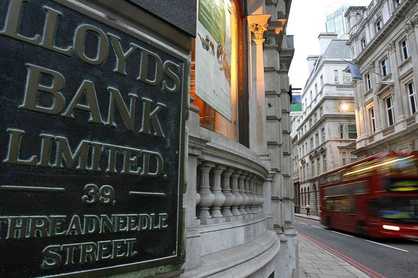The biggest sum set aside by a bank for PPI compensation is the £11.3 billion at Lloyds Banking Group. -- PHOTO: REUTERS