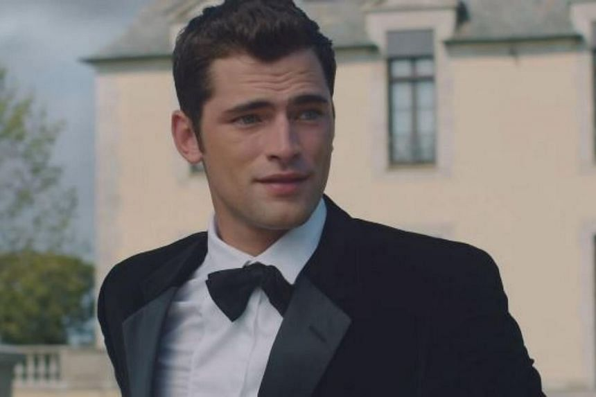 American model Sean O'Pry, who appears in Taylor Swift's new Blank Space music video, has captured hearts with his brooding good looks. -- PHOTO: TAYLOR SWIFT/YOUTUBE