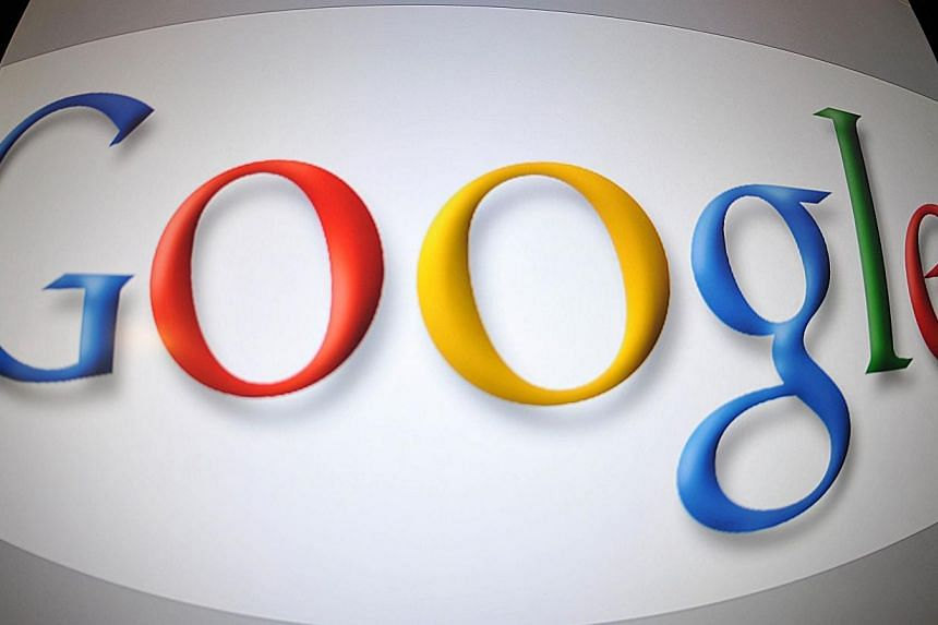 This file picture dated Jan 11, 2011 shows a screen image showing the Google logo in Washington, DC. -- PHOTO: AFP