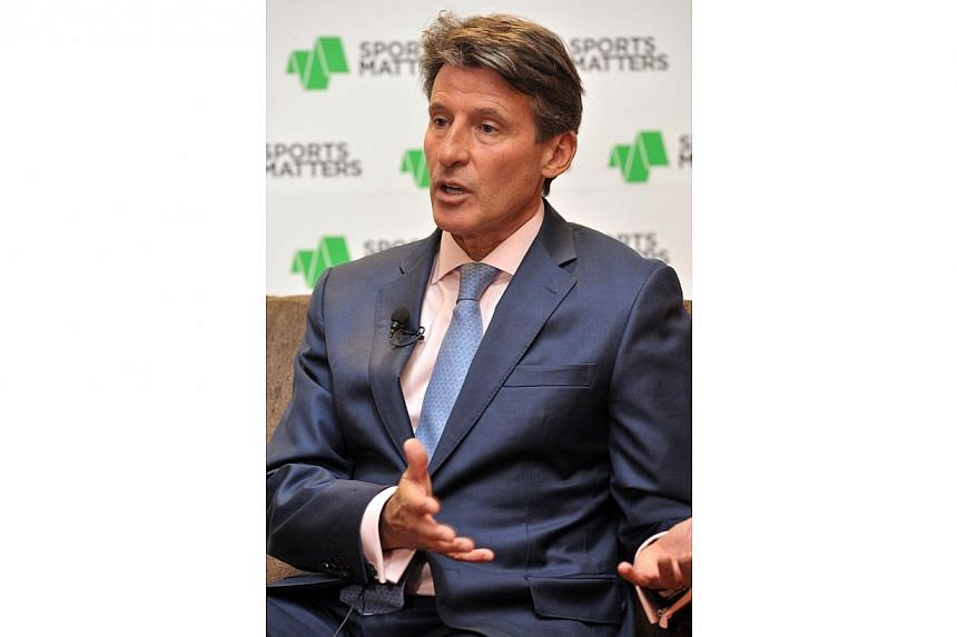 Sebastian Coe, the former Olympic 1,500m champion and chairman of the London 2012 Olympics organising committee, is now chairman of the CSM Sport & Entertainment group of companies, speaking at the Sports Matters conference at Marina Bay Sands.&n