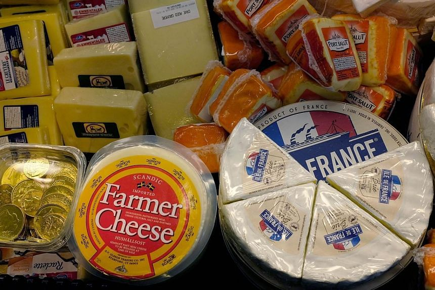 Wikipedia has launched a fundraising initiative - dubbed WikiCheese - to photograph France's bewildering varieties of cheese and put them online to help readers tell their Black Brie from their Tymsboro. -- PHOTO: BUSINESS TIMES FILE