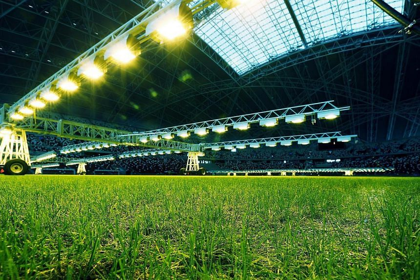 The pitch has improved vastly for the ongoing Asean Football Federation Suzuki Cup after the events calendar was cleared to allow growth lights to stimulate the growth of the rye grass.