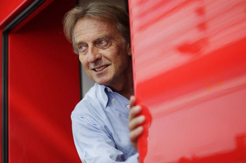 The former long-time head of Ferrari, Luca Cordero di Montezemolo (above), was Wednesday officially named as the head of Italy's national carrier Alitalia. -- PHOTO: REUTERS