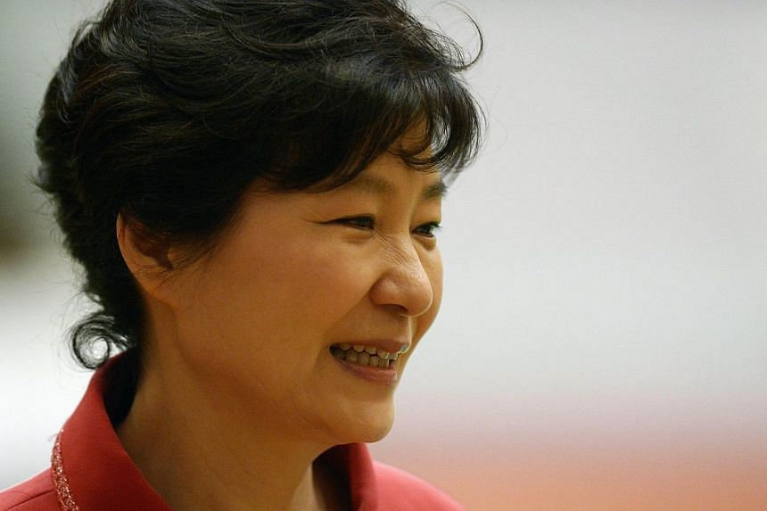 South Korean President Park Geun-Hye attends the ASEAN Plus Three Summit at the Myanmar International Convention Center in Myanmar's capital Naypyidaw on Nov 13, 2014.South Korean President Park Geun Hye used to say that a leader should deliver