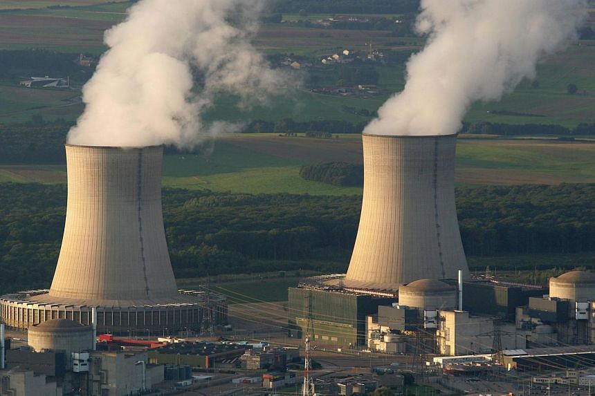 A photo taken on Aug 31, 2006, shows a nuclear power plant in Cattenom, eastern France.A spate of mystery drones flying over French nuclear plants has led the country to launch a programme aimed at developing ways of detecting and intercepting