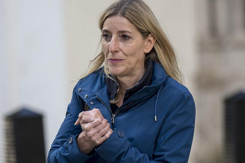 Billionaire hedge fund manager Chris Hohn has been ordered to pay his estranged wife Jamie Cooper-Hohn (above) £337 million (S$690 million) in one of the largest divorce settlements in British legal history, the BBC reported on Thursday. -- PHOTO: R