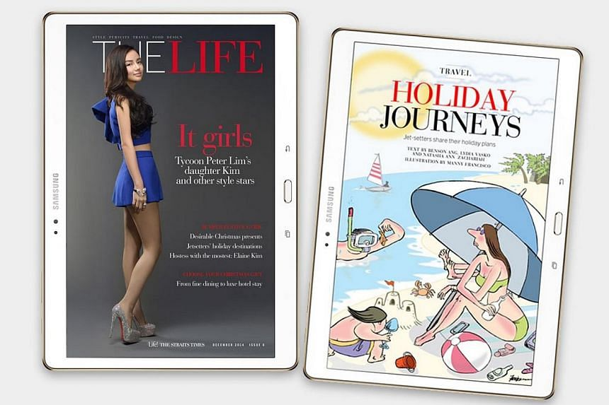 Billionaire Peter Lim's daughter Kim opens up about her privileged life in the latest edition of digital lifestyle magazine The Life. -- PHOTO: THE LIFE SCREENGRAB