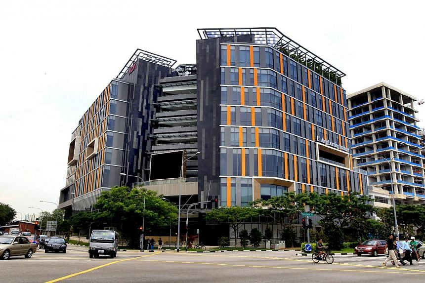 The Lifelong Learning Institute (LLI) at Eunos, where a new vocational library for working adults is sited. -- PHOTO: ST FILE