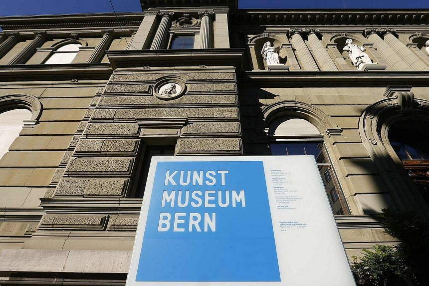 The facade of the Kunstmuseum Bern is seen in the Swiss capital of Bern, in this May 7, 2014 file picture. The museum published a list on Thursday of all the art found in the possession of Cornelius Gurlitt, a German recluse whose secret collection i