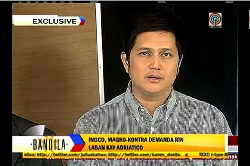 Mr Joseph Russel Ingco told national evening newscasts on Friday that he felt forced to explain his side of the incident out of safety fears. Mr Ingco was caught on video holding a traffic officer by his shirt and dragging him along the road out of t