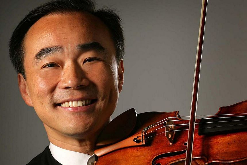Violinist Lin Cho-Liang. -- PHOTO: SINGAPORE SYMPHONY ORCHESTRA