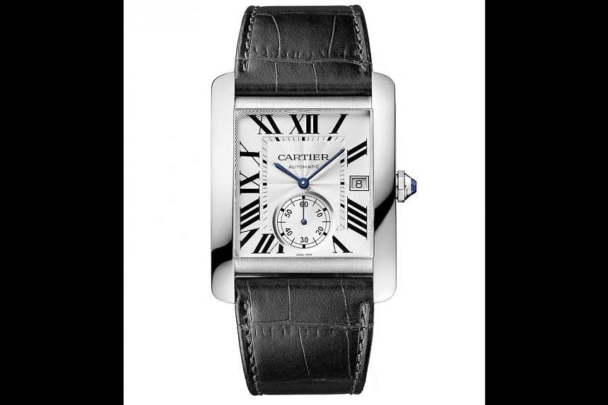 Cartier watch. -- PHOTO: CARTIER