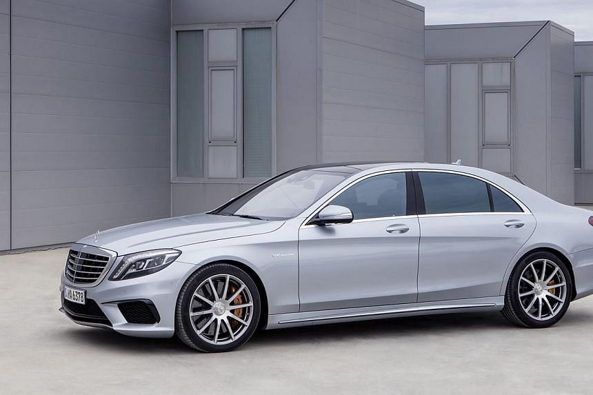 The Mercedes-Benz S63 AMG can hit 100kmh in four seconds despite weighing almost two tonnes.