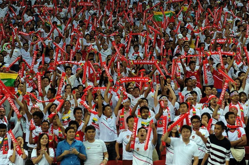 Myanmar fans, who turned out in droves to watch the match against Singapore on Wednesday, are upset that not more tickets are made available for them to catch the tie against Thailand today. They insisted they are not trouble-makers.