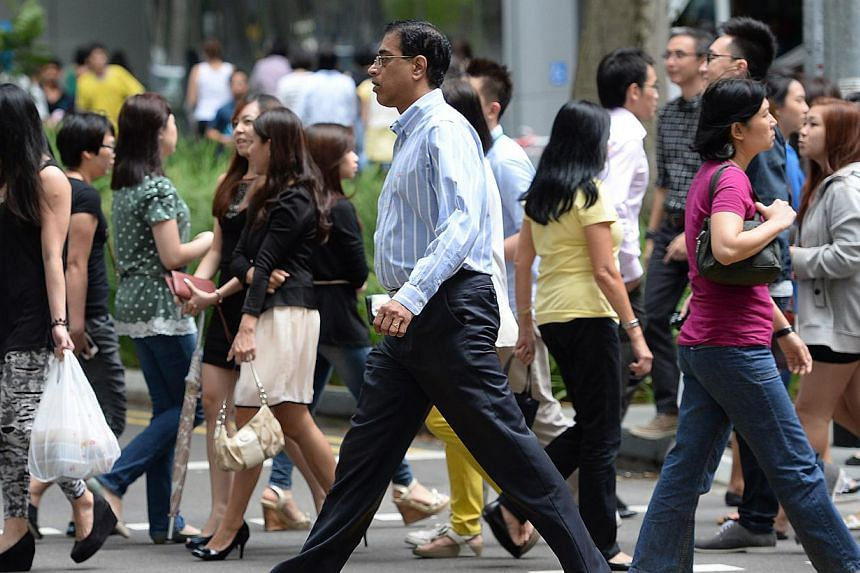 Exacerbating the anxiety is the rise in living costs, which has led to many middle-income Singaporeans no longer being able to afford what they think they deserve. -- PHOTO: ST FILE