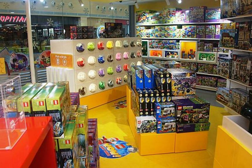 Singapore's first-ever Lego Certified Store. -- PHOTO: LEGO SINGAPORE