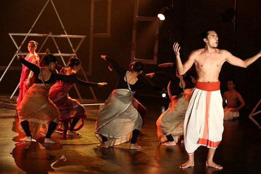 The Blind Age.Chowk Productions, headed by Raka Maitra, has been at the forefront in exploring the contemporising of traditional Indian dance. -- PHOTO: THE ESPLANADE