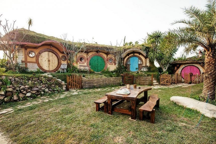 Stay in a hobbit house in Thailand, in a farming village 260km north-east of Bangkok.