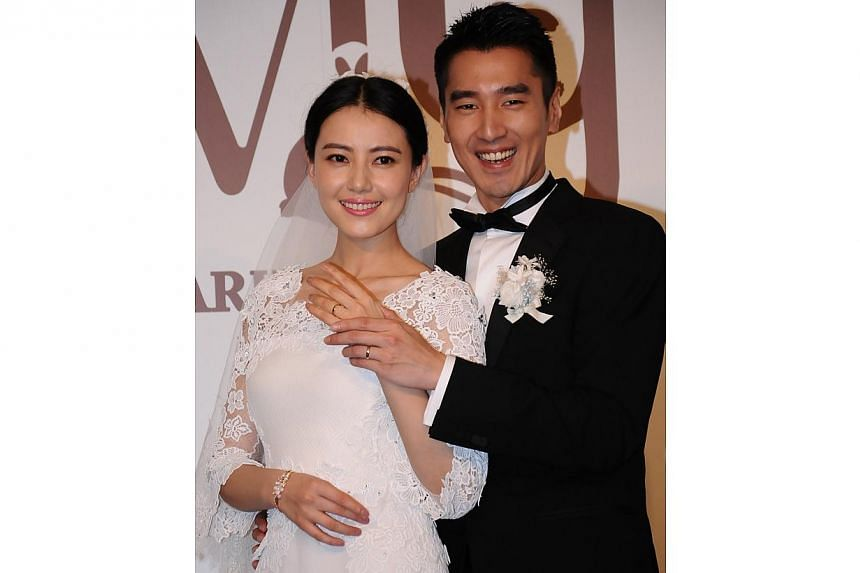 Taiwanese-Canadian actor Mark Chao capped his wedding to Chinese star Gao Yuanyuan with an after-party that lasted till the wee hours last Saturday. -- PHOTO: XINHUA
