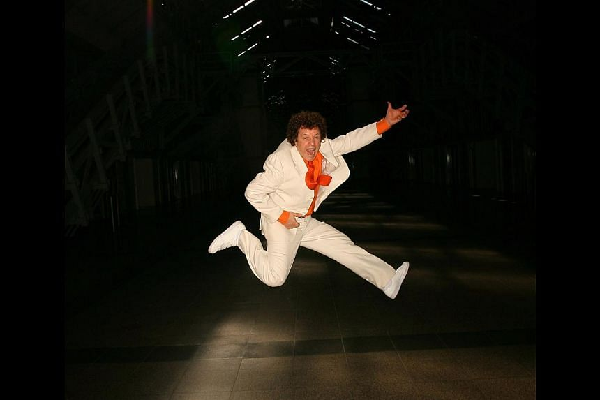 Leo Sayer promises a dynamic return concert where he will be dancing all over. -- PHOTO: BRITISH THEATRE PLAYHOUSE