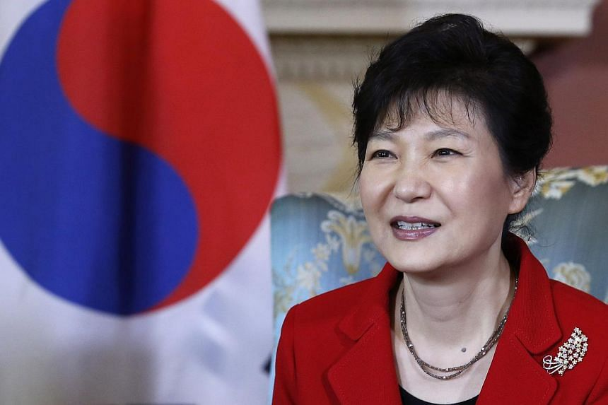 Ms Park Geun Hye says it wastime to reveal the truth so that people would not be thrown into confusion any more. -- PHOTO: REUTERS