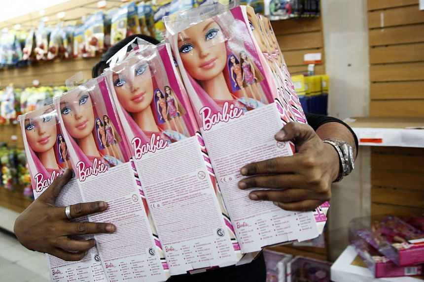 """Greens senator Larissa Waters said """"separate aisles of pink and blue, catalogues categorising toys as for girls or boys and advertising showing just girls or boys playing with particular toys"""" reinforced inequality between men and women. -- PHOTO: RE"""