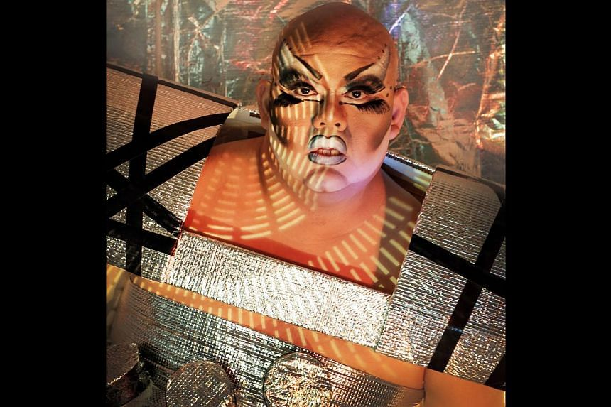 Drag queen Becca d'Bus will be one of the performers in Teater Ekamatra's upcoming production,Paradise. -- PHOTO: TEATER EKAMATRA