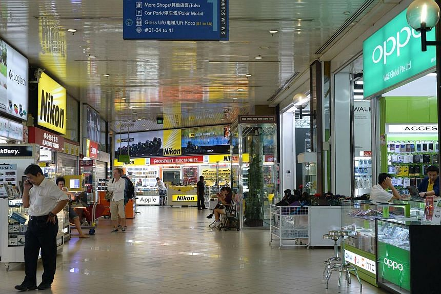 Several shops in Sim Lim Square (above) and People's Park Complex came under fire last month for using unsavoury sales tactics.