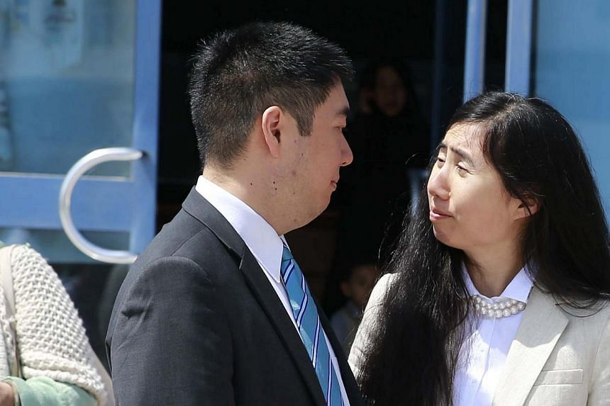 A Qatari appeals court overturned the convictions of Matthew and Grace Huang on Sunday over the death of their eight-year-old daughter Gloria after finding that a lower court had made errors in the high-profile case. But the US couple's passports wer