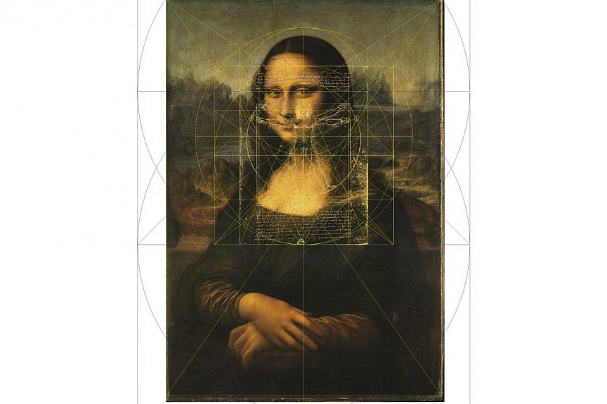 Leonardo da Vinci's Mona Lisa at the Louvre, Paris. -- PHOTO: THE MONA LISA FOUNDATION