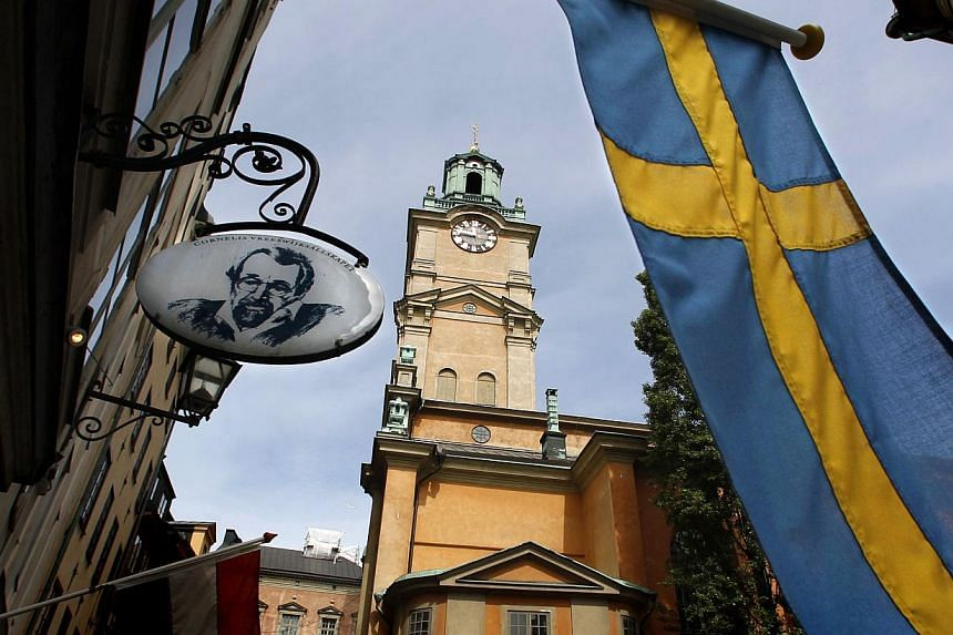 The Stockholm Cathedral is seen in Gamla Stan or the Old Town district of Stockholm. Sweden's canny social policies are the reason so many of its baby boomers are choosing to keep going to the office. --PHOTO: REUTERS