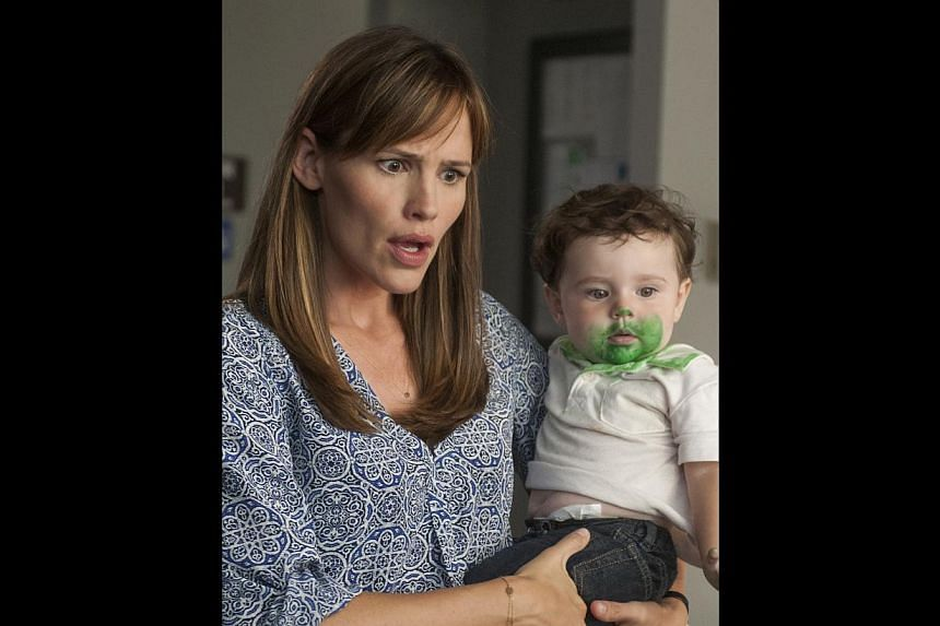 Jennifer Garner, who has three children with husband, actor Ben Affleck, plays a mum in Alexander And The Terrible, Horrible, No Good, Very Bad Day. -- PHOTO: WALT DISNEY STUDIOS MOTION PICTURES SINGAPORE