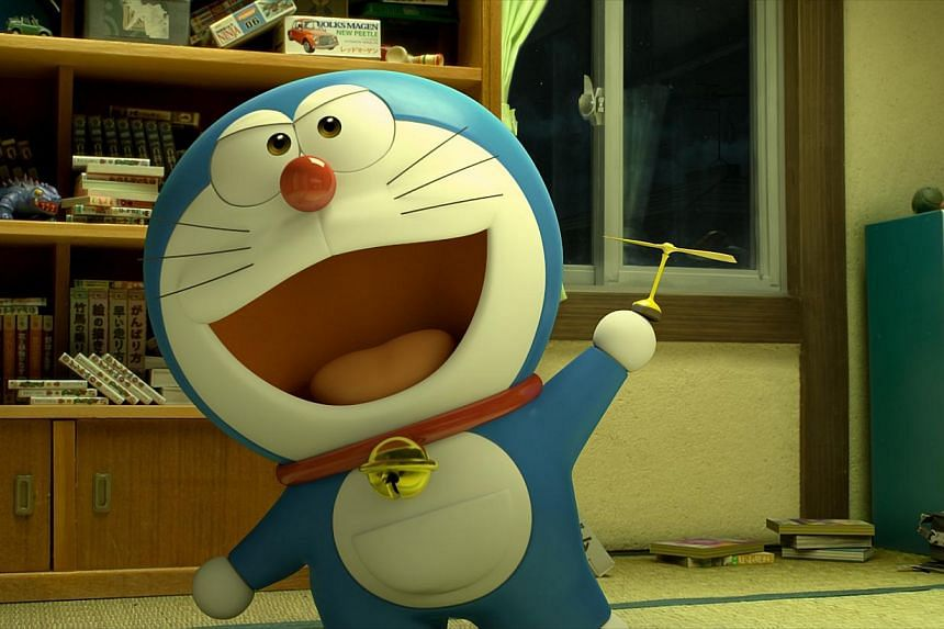 Stand By Me Doraemon. -- PHOTO: GOLDEN VILLAGE PICTURES