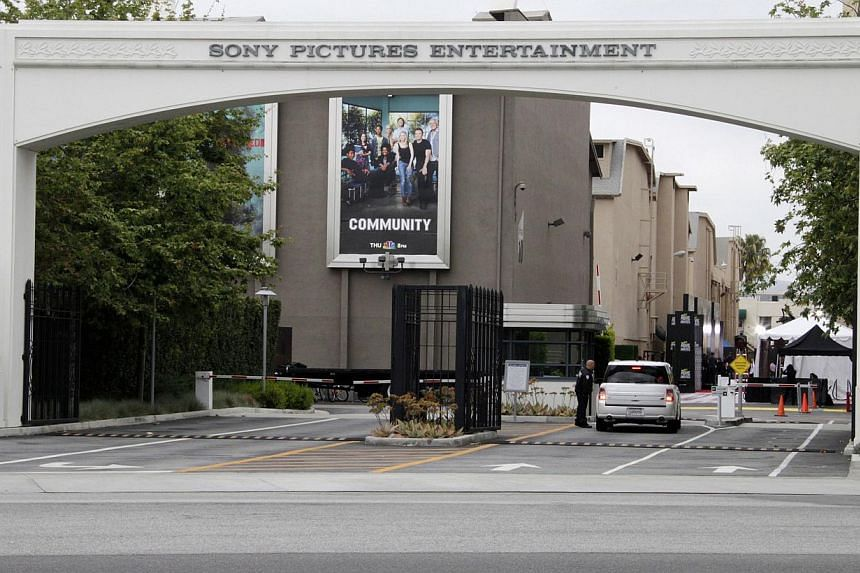 An entrance to Sony Pictures Entertainment is pictured in Culver City, California in this April 14, 2013 photo. -- PHOTO: REUTERS