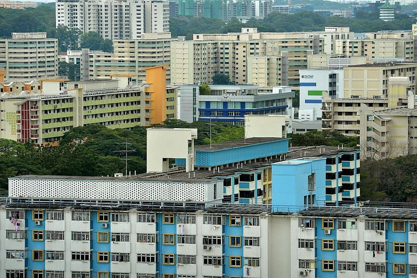Singapore is revising the Resale Price Index (RPI) for HDB flats to reflect changing market conditions, said Minister for National Development Khaw Boon Wan in his blog on Wednesday. -- ST PHOTO: KUA CHEE SIONG