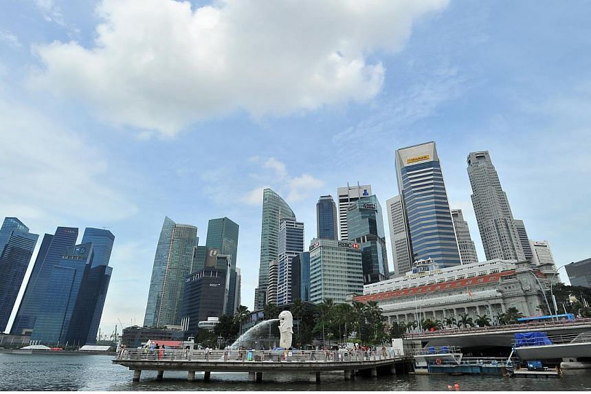 Singapore's Central Business District. Singapore was ranked as the No. 7 best performer in terms of cleannessin Transparency International's annual Corruption Perceptions Index. -- PHOTO: ST FILE