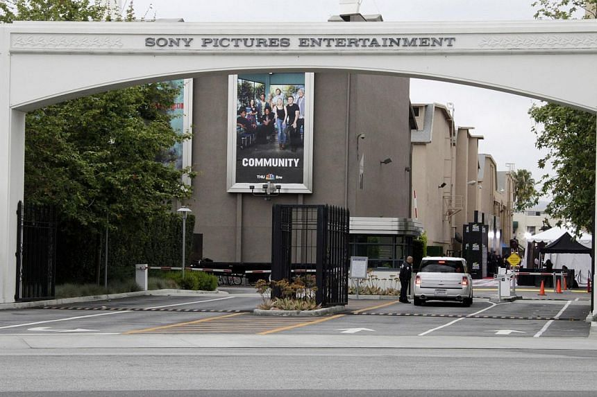 An entrance gate to Sony Pictures Entertainment at the Sony Pictures lot is pictured in Culver City, California in this April 14, 2013 file photo. The US FBI said Tuesday it was investigating a cyberattack on Sony Pictures, amid reports that employee
